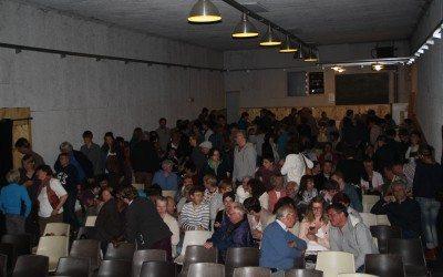 """06/05/2016 – Gesves – 180 personnes présentes pour la projection du film """"Demain"""""""