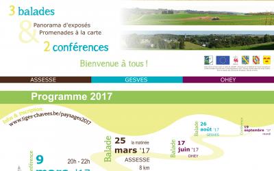 Au-delà des Tiges et Chavées : paysages en 2017