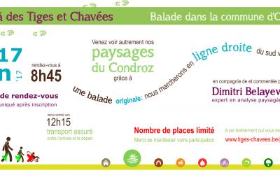 """Balades """"paysages"""" samedi 17 juin"""