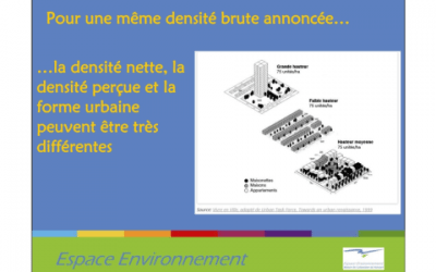 "Atelier ""densification en milieu rural"""