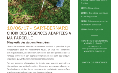 Formation Forêts : Régénération ; le 10 juin 2017