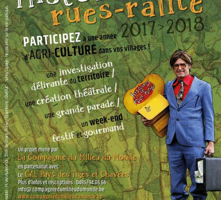 """""""Histoires de Rues-ralité"""" : lancement ce 25 juin 2017"""