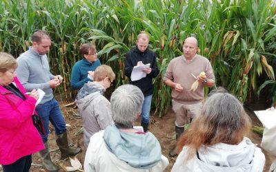 Formation Guide agricole – Troisième sortie de terrain