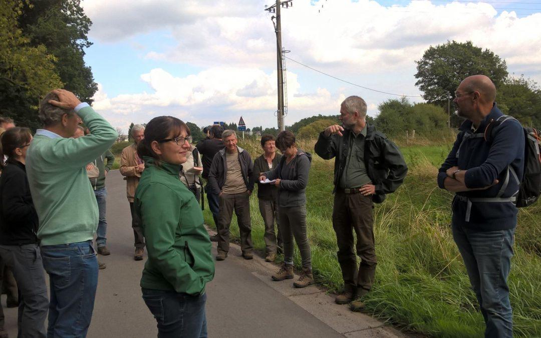 Evolution des paysages forestiers : conférence et sortie de terrain