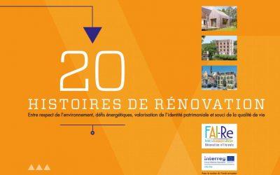 20 histoires de rénovation : appel à projets
