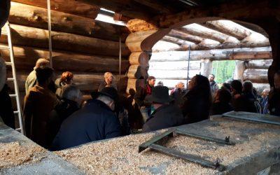 Apéro Bois – Scieries mobiles et maison en bois brut ajusté