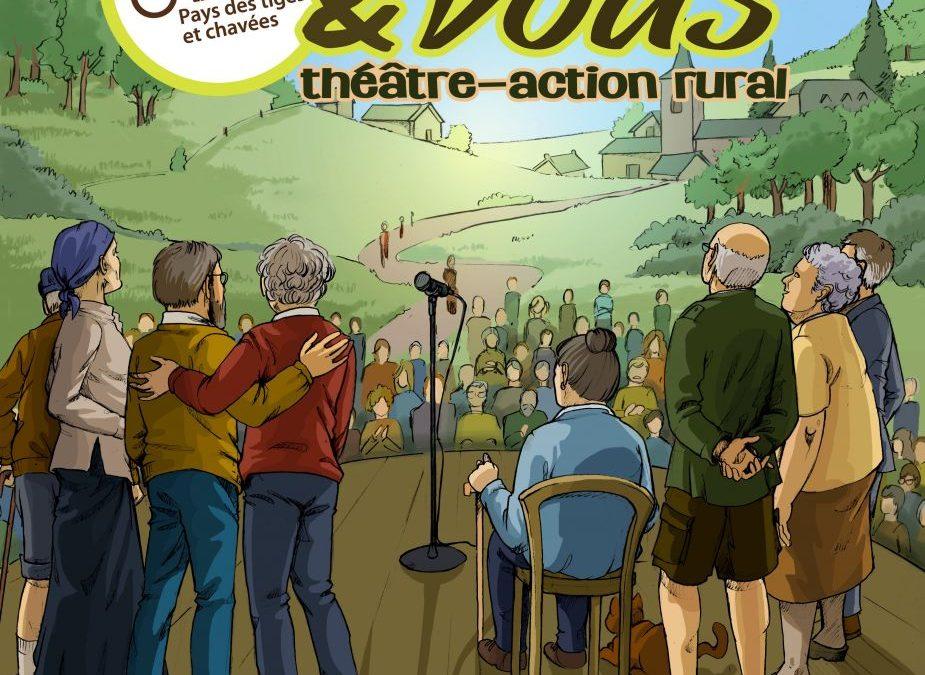 Théâtre SENIORS & VOUS : à la rencontre de la parole des personnes âgées de nos villages !