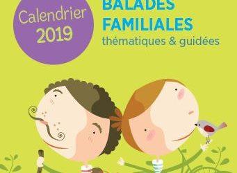 Balades familiales thématiques et guidées – Calendrier 2019