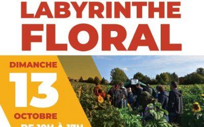 Un labyrinthe floral aussi pour interpeller !