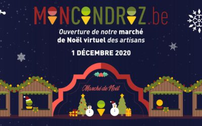 Un marché de Noël virtuel sur MonCondroz.be !