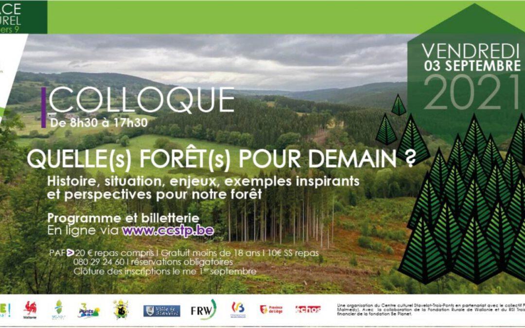 Quelle(s) Forêt(s) pour demain?